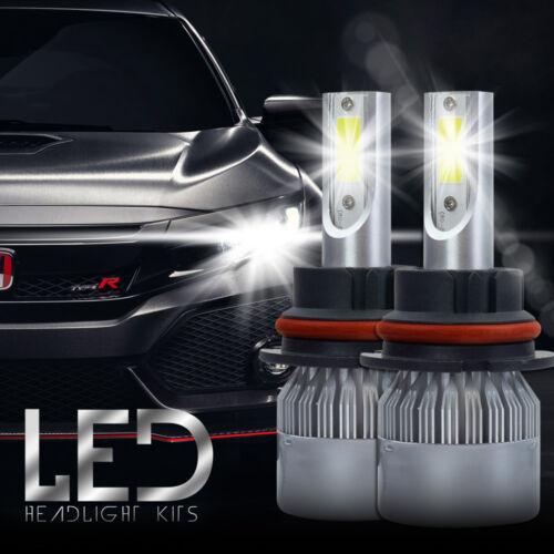 XENTEC LED HID Headlight kit 9007 HB5 6000K for Nissan Sentra 1999-2003