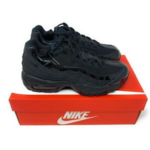 Details about Nike Air Max 95 Women's Shoes Size 5 Triple Black Style 307960 010