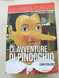 Le-Avventure-di-Pinocchio-Carlo-Collodi-Libro-nuovo-in-offerta
