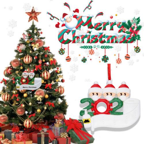 2020 Xmas Christmas Tree Hanging Ornaments Personalized Family Ornament Decor