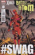 X-MEN - BATTLE OF THE ATOM #1 - Deadpool Variant Comic (2013) - NM - MARVEL