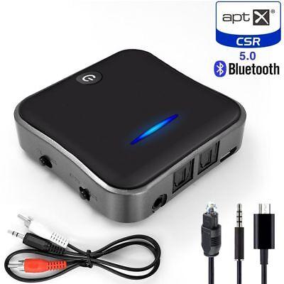 Bluetooth 5 0 Audio Transmitter Receiver Csr8675 Aptx Hd Adapter Optical Toslink Ebay