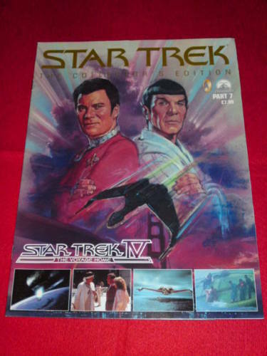 STAR TREK THE VOYAGE HOME Part 7 COLLECTORS EDITION