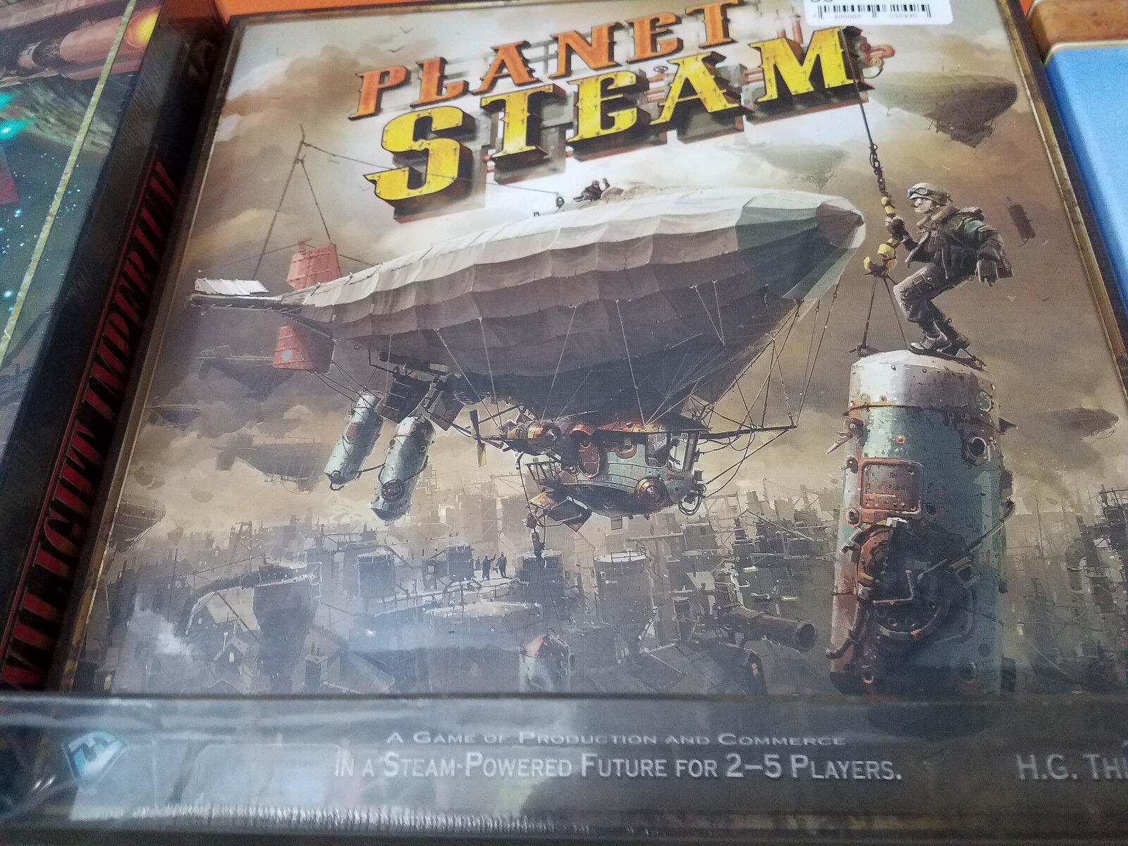 Planet Steam - Board Game Fantasy Flight Games New NIB