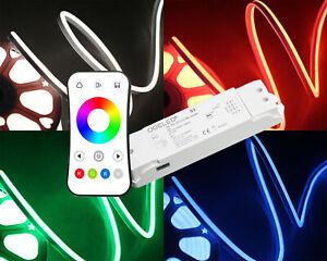 1-50m-Neon-RGB-LED-Streifen-Strip-Band-leisten-mit-S3-Kontroller-wasserfest-IP65