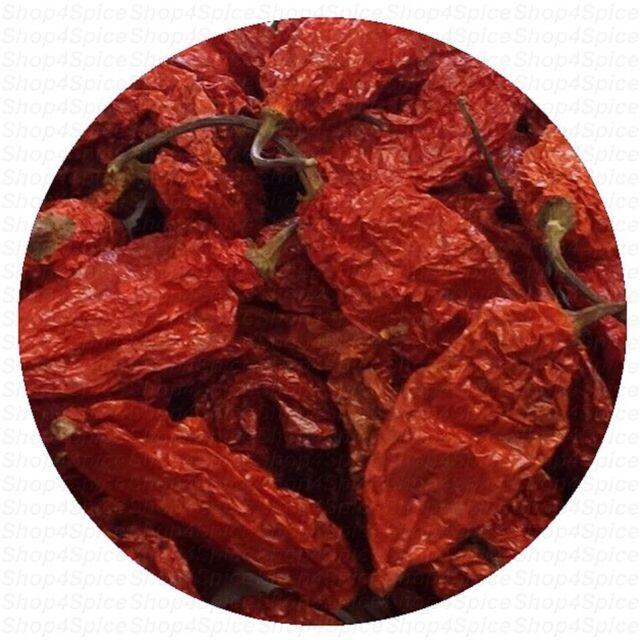 Ghost Pepper - 10g -  (Whole Dry)  Chili Naga Bhut Jolokia - ozSpice