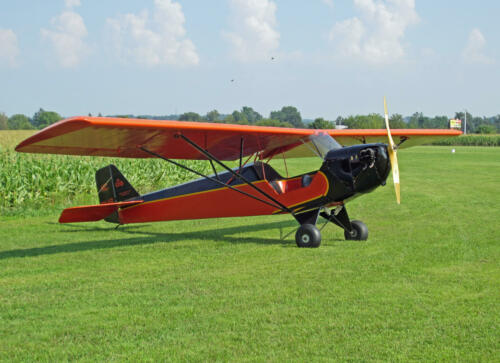 18 Scale Taylor E2F2 Cub Plans and Templates 53ws