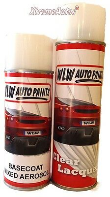 spray paint Lacquer mixed to code colour custom car AEROSOL 400ML car van