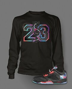db6142cb3b53 23 T Shirt To Match Air Jordan 5 Low Chinese New Year Shoe Pro Club ...