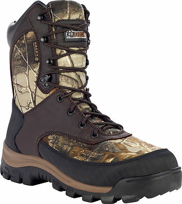 df9bcf34521 Rocky Core Mens Brown Waterproof 400g Insulated Outdoor Boot FQ0004754 |  eBay
