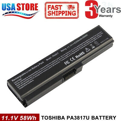 BATTERIA portatile per PA3817U-1BRS C655 Toshiba Satellite L655 batteria pc