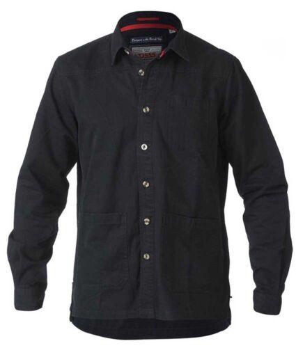 D555 Ramsey Heavy Twill Overshirt