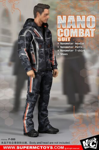 SUPERMCToys 1//6 Wolverine Nano Combat Suit Sets F-080 For 12/'/' Acton Figure Toys