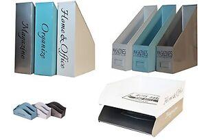 Vassoio-Lettera-Metallo-Impilabile-Vassoio-per-A4-Raccoglitore-documenti