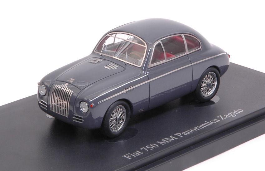 Fiat 750 Panoramica Zagato 1949 grigio 1 43 Model AUTOCULT