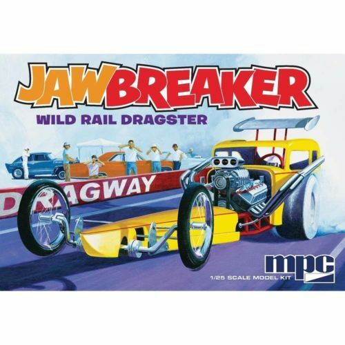 MPC JAWBREAKER Front Engine Dragster 1 25 Plastic Model kit new in the box