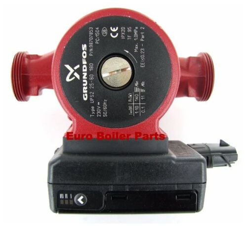 Grundfos UPS2 25-80 180 A Light Commercial Heating Circulating Pump Domestic
