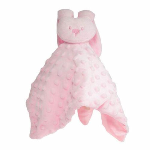 Baby Boys Girls Bunny Comforter Soft Cuddly Blanket Baby Shower Comforter BC32
