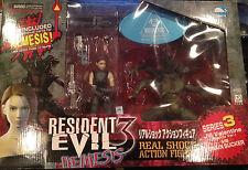 Resident Evil 3 Nemesis Series 3 Jill Valentine vs Brain Sucker Real Shock
