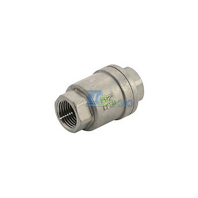 1 Check Valve WOG 1000 Spring Loaded In-line Stainless Steel SUS//SS316 CF8M