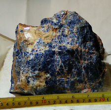 Namibian Sodalite lapidary rough 4.1 lbs (1843 grams)