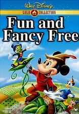 Mickey and The Beanstalk Donald Bongo & Jiminy Cricket Fun and Fancy Free on DVD