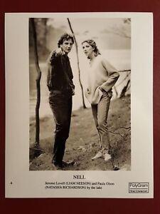 Details about Nell - Liam Neeson, Natasha Richardson - 10x8 B&W Photo Press  Still #B1089