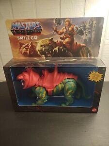 Original 2020 MOTU Origins BATTLE CAT Masters Universe He Man NIB NEW Walmart Ex