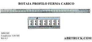 Guida-Rotaia-profilo-binario-fermacarico-per-camion-rimorchi-motrice-autocarro