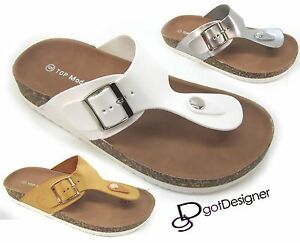 91ff4ec93d92 Image is loading Women-Comfort-Sandal-Thong-Flip-Flop-Slippers-Casual-