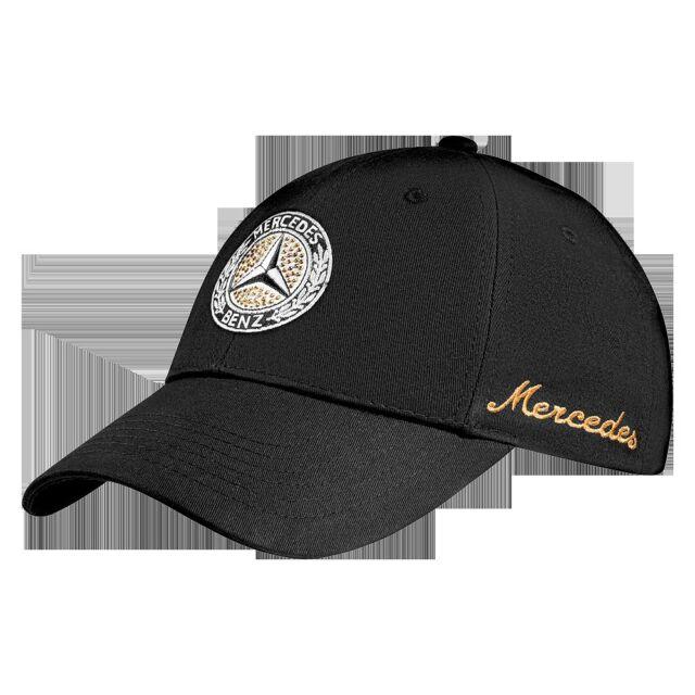 Mercedes Benz Ladies Baseball Cap Classic Black NIP 952928e4f4cd