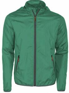 new styles 979b5 e3f10 Dettagli su Giubbino leggero estivo giacca IMPERMEABILE taglie forti uomo  THOMAS