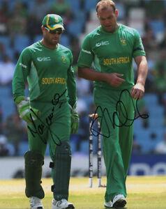 Details about Mark Boucher & Jacques Kallis, South Africa cricket, signed  10x8 photo  COA