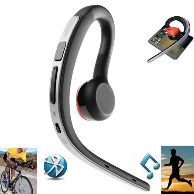 Wireless Bluetooth Earpiece Headset Stereo Headphone Earphone for iPhone Samsung