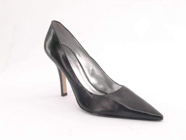 la vostra soddisfazione è il nostro obiettivo New NINE WEST donna Leather Blk Classic High Heel Pointy Pointy Pointy Toe Pump scarpe Sz 8.5 M  Prezzo al piano