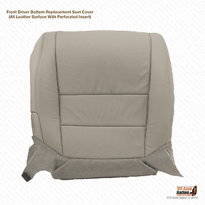 Fits Acura TL Driver Bottom Replacement Perforated Leather Seat - Acura tl leather seats