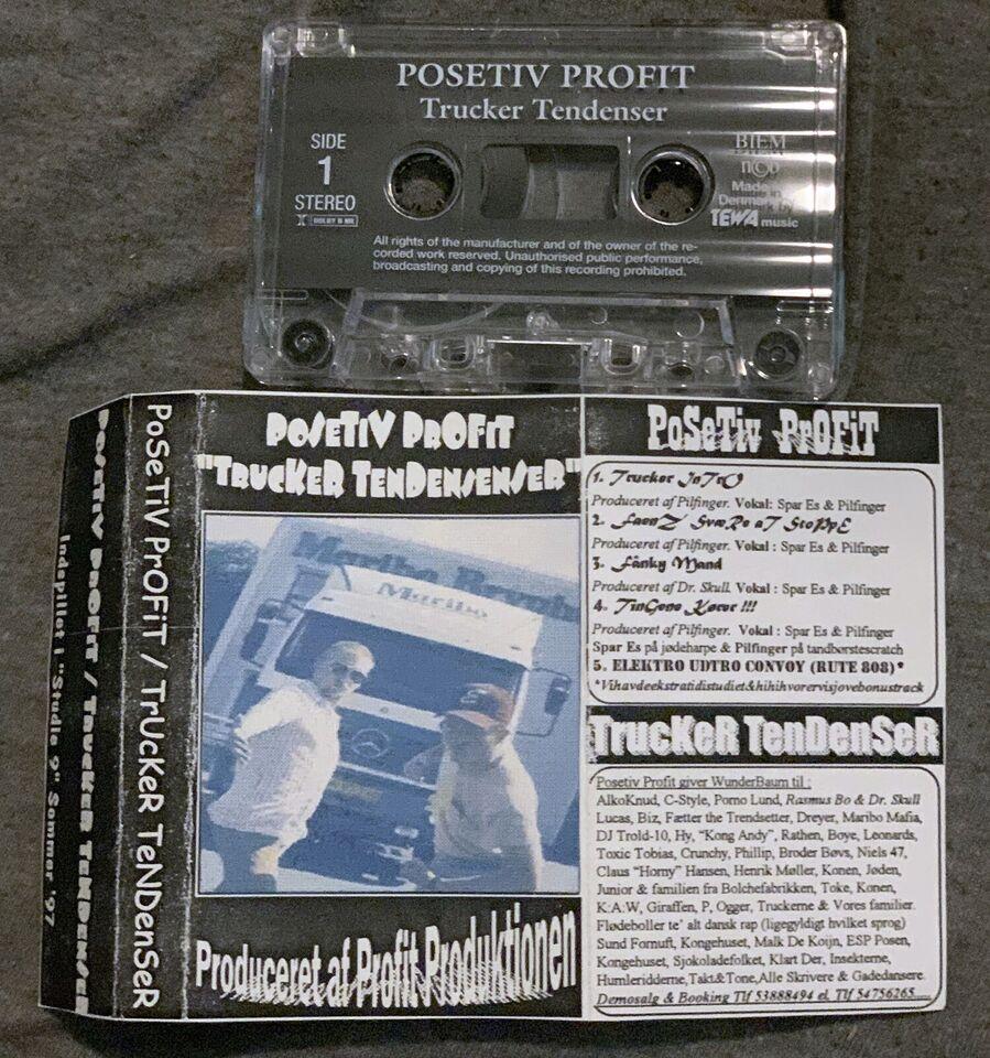 Demokassettebånd: Posetiv Profit: Trucker Tendenser,