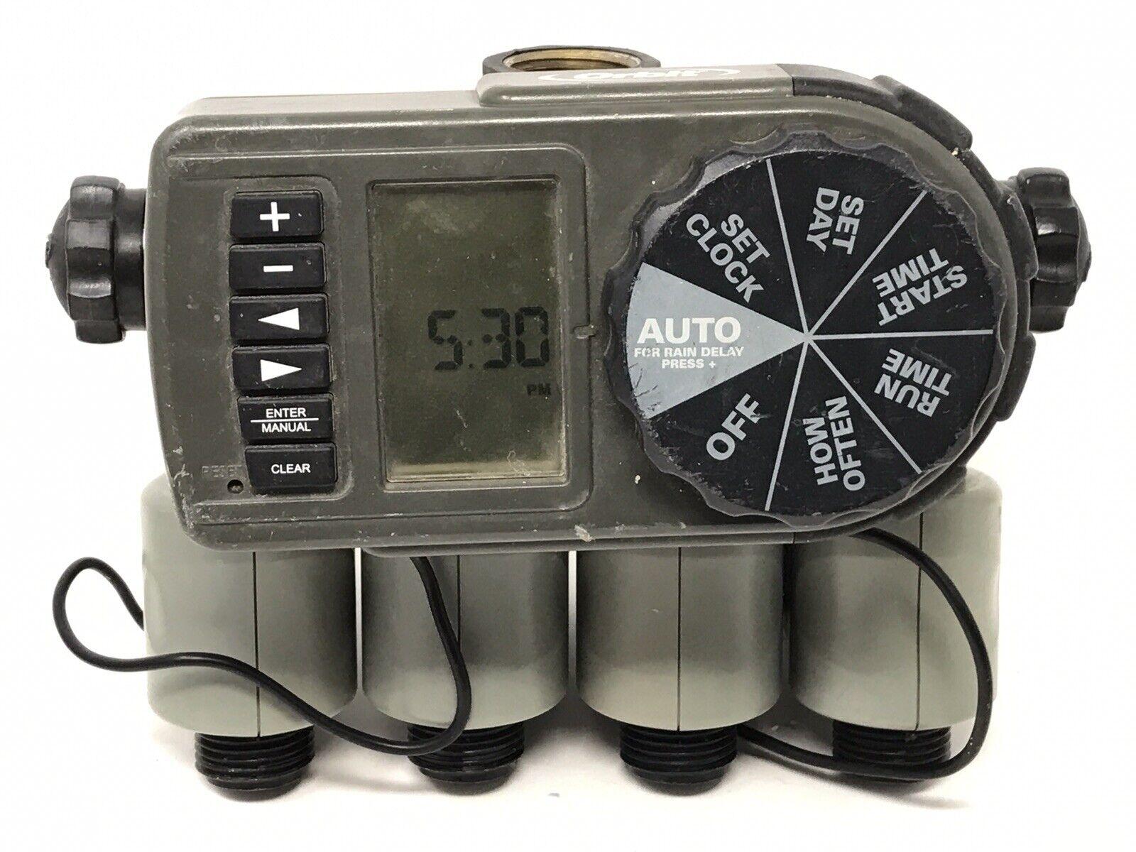 Orbit Automatic Timer Yard Watering Kit Model 56041 - Tested - Has Leaks