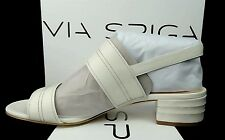 Via Spiga V-GEM2 Milk LE size 9 new Leather