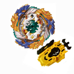 Beyblade-Burst-Fight-Geist-Fafnir-8-Ab-Booster-B-122-With-L-R-String-Launcher