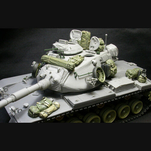 1:35 SOL RESIN FACTORY U.S M60A1//A3 Stowage /& Accessory cat.no.MM207