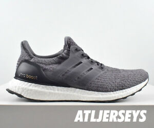 ad21b7184 Adidas Ultraboost 3.0 Mystery Grey Core Black White Ultra Boost ...