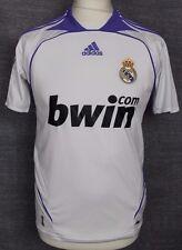"VINTAGE REAL MADRID HOME FOOTBALL SHIRT 06-07 ADIDAS RARE YOUTHS 32/34"""