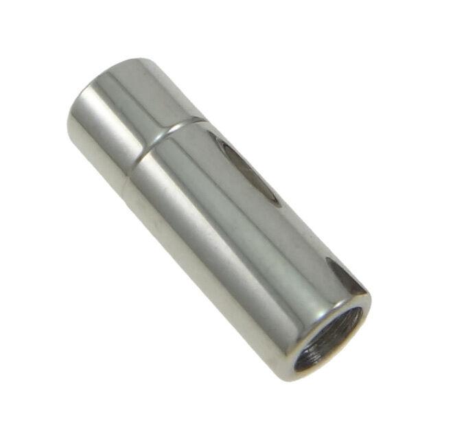 Zylinderförmiger Magnet Verschluss aus Edelstahl für Ketten