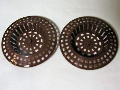 Abfluss Sieb Haarsieb Kunststoffsieb für Waschbecken und Spüle Spülbecken
