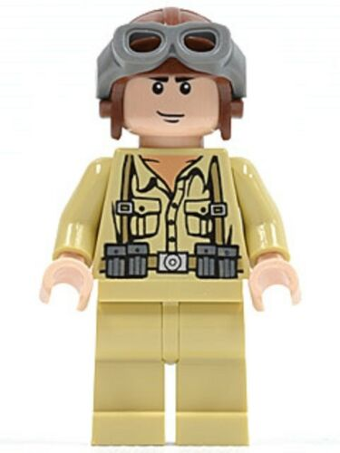 Lego Indiana Jones Soldier 5 iaj023 Minifigure Minifig Army New From set 7683