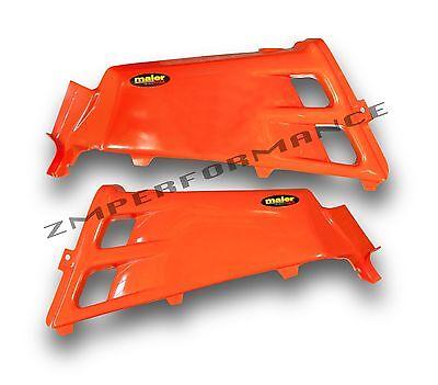 NEW YAMAHA YFZ 350 BANSHEE ZEST ORANGE PLASTIC GAS TANK COVER PLASTICS