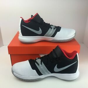 purchase cheap d778e 068ca Image is loading Nike-Kyrie-Flytrap-AA7071-102-White-Gray-Red-
