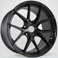 19x8.5 19x9.5 +15 Aodhan Ls007 5x114.3 Black Wheels Fit Ford Mustang Gt 5x4.5 on sale