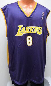 vtg-KOBE-BRYANT-8-LA-Lakers-Champion-Jersey-2XL-90s-nba-road-jersey-Oversize